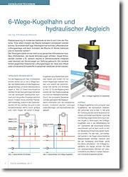Hydraulischer Anschluss mehrerer 2- und 3-Wege-Ventile deutlich vereinfacht.