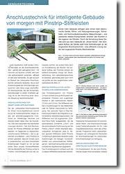 Anschlusstechnik für Smart Home-Applikationen