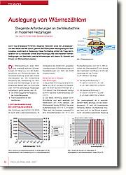 Auslegung von Wärmezählern: Steigende Anforderungen an die  Messtechnik in modernen Heizanlagen