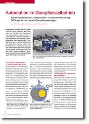 Schutz vor Überlast bei Großwasserraum- Dampfkesselanlagen durch Automatisches An- und Abfahren.