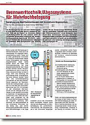Brennwerttechnik / Abgassysteme für  Mehrfachbelegung: Sanierung von Mehrfamilienhäusern mit innovativem Abgassystem. Mit der Energie-Einspar-Verordnung (EnEV) legt der Gesetzgeber außerdem einen Grenzwert für den Primärenergiebedarf eines Gebäudes fest. Durch diese Verordnungen sind auch Wohnungsbaugesellschaften angehalten, ihre Heizungsanlagen vom Fachmann prüfen zu lassen, um zu entscheiden, ob und wann eine Sanierung der Anlage angeraten oder unumgänglich ist.