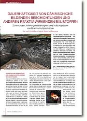 Zulassungen, Alterungsbeständigkeit und Nutzungsdauer von Brandschutzprodukten