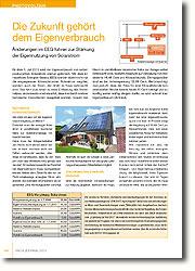 Änderungen im EEG führen zur Stärkung der Eigennutzung von Solarstrom. Wie kann ich also von der Eigenverbrauchsregelung profitieren? Zunächst muss der erzeugte Solarstrom in unmittelbarer räumlicher Nähe zur Solarstromanlage verbraucht werden.