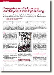 Verbesserung der Heizungs-Hydraulik durch Rücklaufnutzung für die Fußbodenheizung und Zwei-Zonen-Be- und Entladung des Pufferspeichers