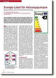 Energie-Label für Heizungspumpen: Europas führende Hersteller von  Heizungspumpen haben sich zu einer  einheitlichen Kennzeichnung des  Energie-Verbrauchs verpflichtet. Das  Energie-Label kennen Endverbraucher  schon von Weißwaren: In Stufen von A  bis G klassifiziert es die  Verbrauchsdaten der Pumpen verständlich und übersichtlich.