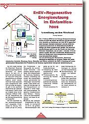 Regenerative Energienutzung im  Einfamilienhaus: Systemlösung aus dem Mittelstand