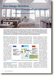 Eco-Design-Richtlinie - 12 Fragen und Antworten zu LOT 10