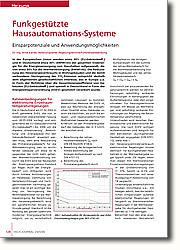 Funkgestützte Hausautomations-Systeme: Einsparpotenziale und  Anwendungsmöglichkeiten