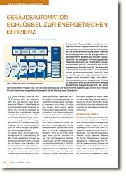 Steuerung der energetischen Effizienz in neuen oder Bestandsgebäuden durch Energiemanagementsystem (EnMS).