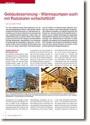 Beheizung und Wärmedämmung in der Gebäudesanierung