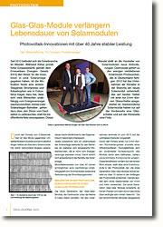 Photovoltaik-Innovationen mit über 40 Jahre stabiler Leistung