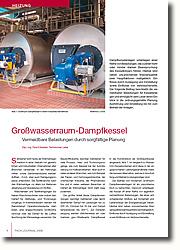 Grosswasserraum-Dampfkessel: Vermeidbare Belastungen durch sorgfältige Planung