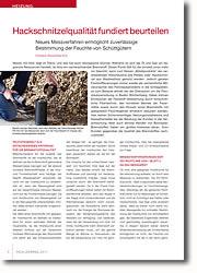 Neues Messverfahren ermöglicht zuverlässige Bestimmung der Feuchte von Schüttgütern