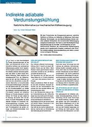 Natürliche Alternative zur mechanischen Kälteerzeugung