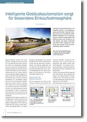 Einsatz modernster Technik unterstützt energieeffizienten Anlagenbetrieb