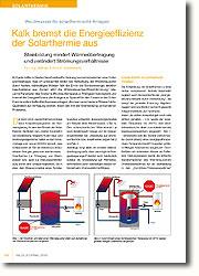 kalk bremst die energieeffizienz der solarthermie aus fachjournal. Black Bedroom Furniture Sets. Home Design Ideas