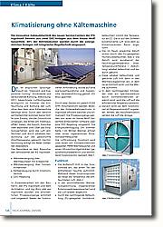 Klimatisierung ohne Kältemaschine: Klimaanlagen für die Zukunft