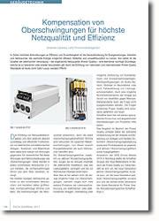 Qualität der elektrischen Versorgung ? eine elementar wichtige Grundlage