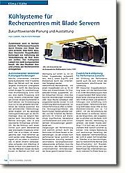 Kühlsysteme für Rechenzentren mit Blade Servern: Zukunftsweisende Planung und Ausstattung