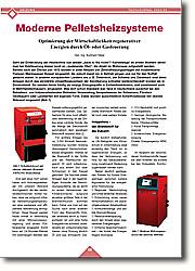 Moderne Pelletsheizsysteme: Optimierung der Wirtschaftlichkeit  regenerativer Energien durch Öl- oder  Gasfeuerung