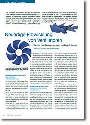 Bionisches Design gepaart mit Bio-Polymer