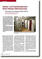Ein Cottbusser Mehrfamilienhaus sollte mit erneuerbarer Energie versorgt werden und gleichzeitig den Bewohnern nur geringe Betriebskosten verursachen