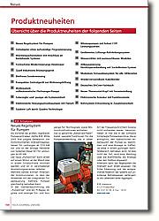Produktneuheiten der Ausgabe 2005/2006: Alle Meldungen der Ausgabe zusammengefasst