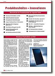 Produktneuheiten der Ausgabe 2004/2005: Alle Meldungen der Ausgabe zusammengefasst
