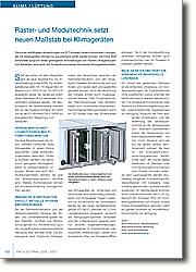 Raster- und Modultechnik setzt neuen Maßstab bei Klimageräten: Neue Gerätekonstruktion vereinfacht individuelle Lösungen.