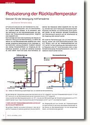 Grenzen für die Versorgung mit Fernwärme