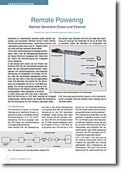 Nächste Generation Power over Ethernet