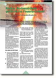 Feuerbrücken! Neue Erkenntnisse zum Vorbeugenden Brandschutz in der Haustechnik. Sind Bodenabläufe eine bisher unbeachtete Feuerbrücke zwischen den Geschossen? Stellen sie bei Bränden eine tödliche Gefahr innerhalb von Gebäuden dar? Großbrände wie am Düsseldorfer Flughafen zeigen in erschreckendem Maße, welche Auswirkungen mangelhafte Schutzvorkehrungen, insbesondere die Verwendung nicht brandschutztauglicher Produkte nach sich ziehen.