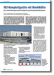 Zeit- und Kostenersparnis durch  integrierte, anschlussfertige  Kältesysteme