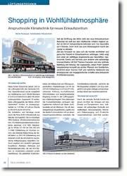 Anspruchsvolle Klimatechnik für neues Einkaufszentrum