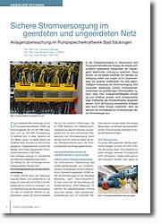 Anlagenüberwachung im Pumpspeicherkraftwerk Bad Säckingen