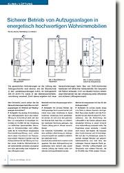 Worin bestehen die Herausforderungen beim Bau von Aufzugsanlagen im Hinblick auf Niedrigenergie-Immobilien?
