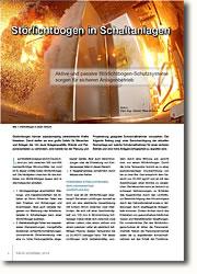 Aktive und passive Störlichtbogen-Schutzsysteme sorgen für sicheren Anlagenbetrieb