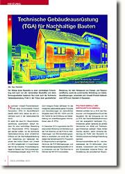 Die Technische Gebäudeausrüstung und Baustoffe im Fokus einer ganzheitlichen Bewertung.