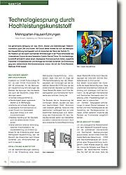 Technologiesprung durch Hochleistungskunststoff: Mehrsparten-Hauseinführungen