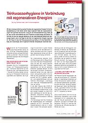 Trinkwasserhygiene in Verbindung mit  regenerativen Energien: Neuartige Systeme zur sicheren hygienischen Trinkwassererwärmung