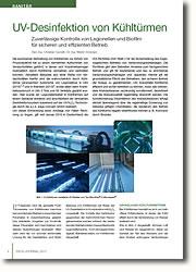 Zuverlässige Kontrolle von Legionellen und Biofilm für sicheren und effizienten Betrieb