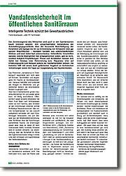 Vandalensicherheit im öffentlichen  Sanitärraum: Intelligente Technik schützt bei Gewaltausbrüchen