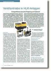 Energieeffizienz zwischen Regelung und Hydraulik