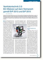 EC-Motoren gemäss ErP 2013 und ErP 2015 auf dem Vormarsch