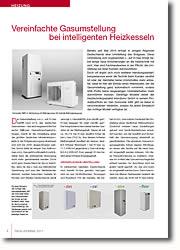 Anforderungen - Umstellung vom L-Gas auf H-Gas