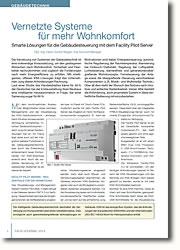 Smarte Lösungen für die Gebäudesteuerung mit dem Facility Pilot Server
