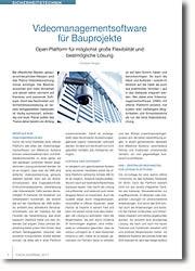 Open Platform für möglichst große Flexibilität und bestmögliche Lösung
