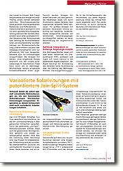 Vorisolierte Solarleitungen mit  patentiertem Join-Split-System: Patentierte Rohrleitungs-Verbindung