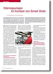 Intelligente Energienetze (Smart Grids) Bieten neue Möglichkeiten für elektrische Wärmepumpen