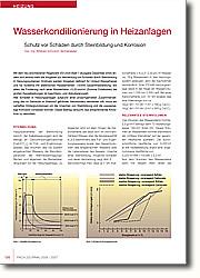 Wasserkonditionierung in Heizanlagen: Schutz vor Schäden durch Steinbildung und Korrosion